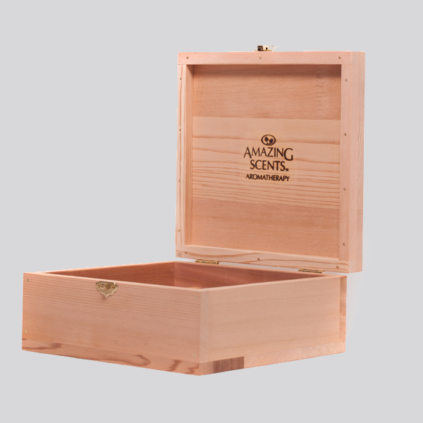 Cedarwood Oil Box
